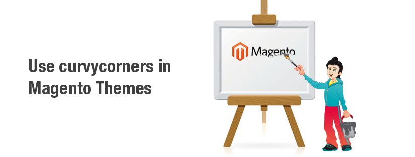 How to use curvycorners in Magento themes