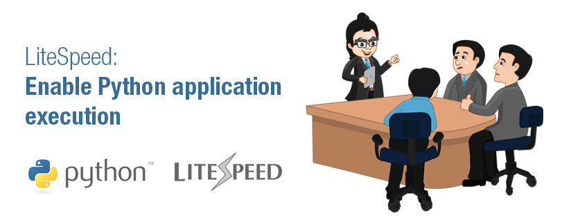 LiteSpeed: Enable Python application execution