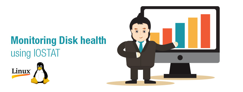 Disk health evaluation using IOSTAT