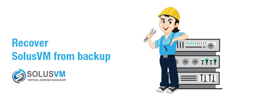 SolusVM recovery from backup