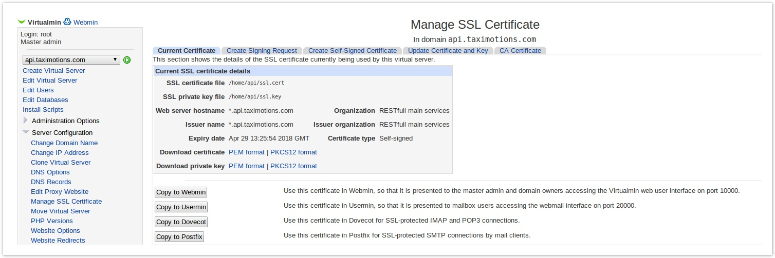 Virtualmin Enable Postfix Ssl For Smtp