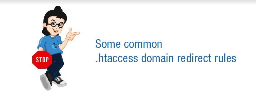 Some common .htaccess domain redirect rules