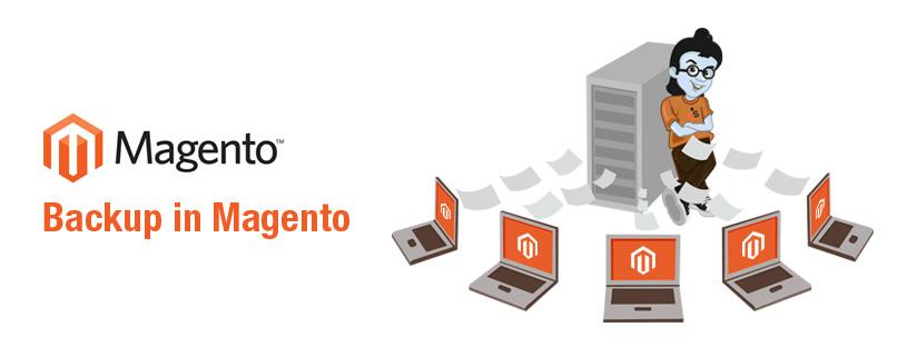 Magento : Backup Operations