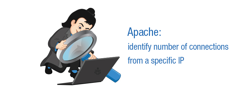 Apache: identify number of connections from a specific IP
