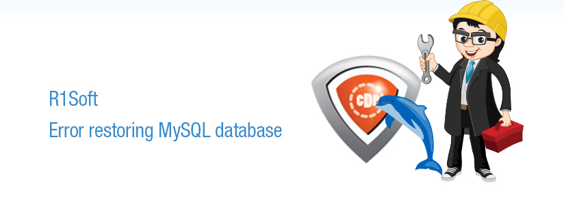 R1Soft MySQL Database restore :MySQLD executable not found!