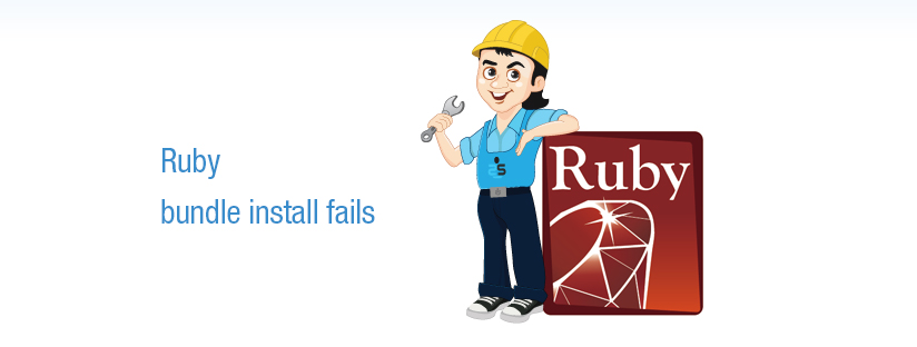Ruby – bundle install fails