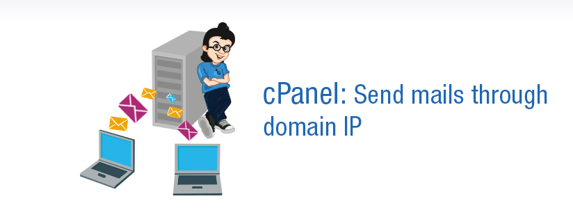 cPanel: How to send mails through domain IP