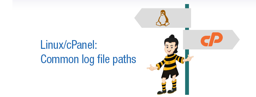 Linux/cPanel : Common logs file paths