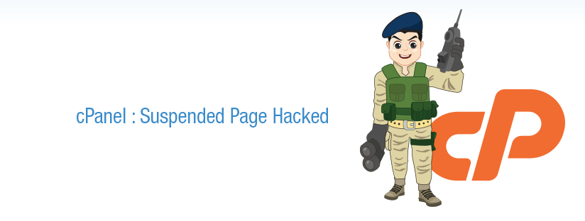 """Suspended Page "" defaced in cPanel Server"