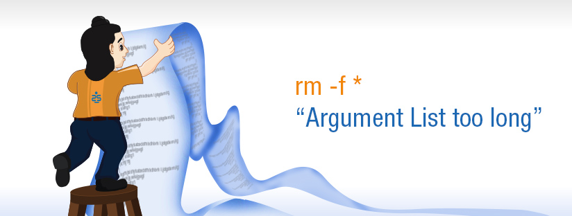 "rm -f *:  ""Argument List too long"""