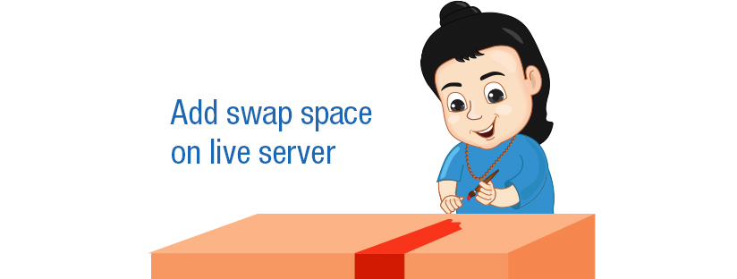 How to add swap space on live server