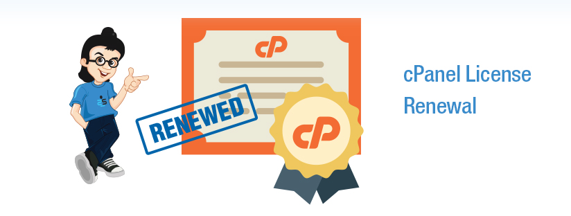 How to renew cPanel License