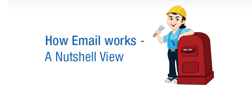 How Email works – A Nutshell View