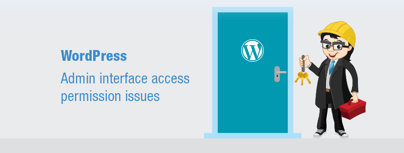 WordPress- Admin interface access permission issues