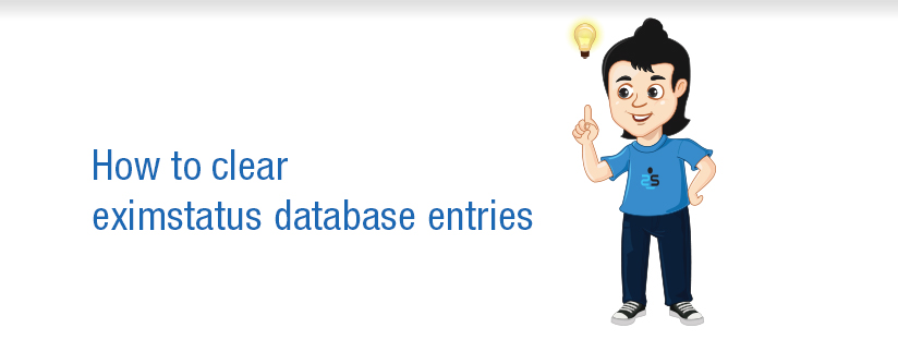 How to clear eximstatus database entries