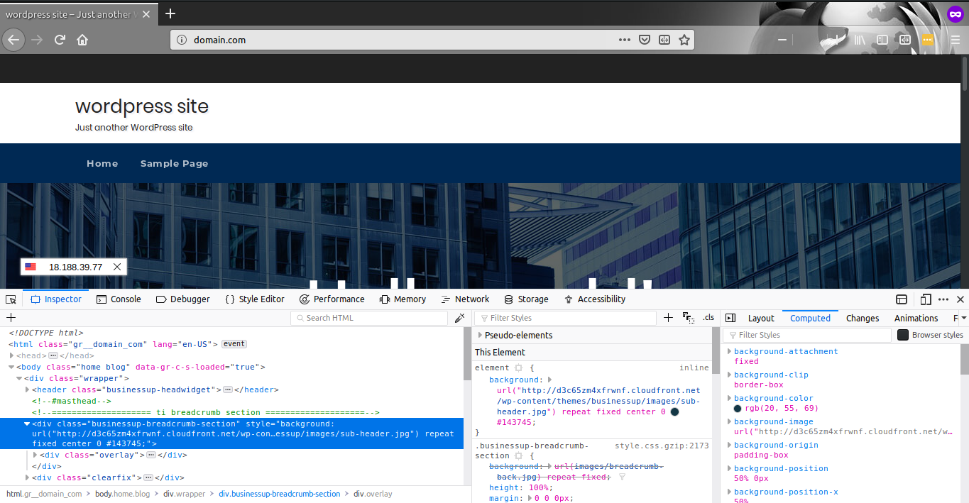 Building up a WordPress website with AWS – PART 5