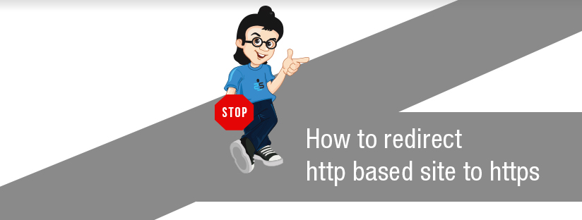 How to redirect http based site to https?
