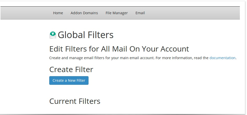 Global Filters