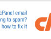 cPanel email going to spam? Here's how to fix it.