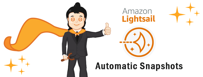 AWS LightSail Automatic Snapshots